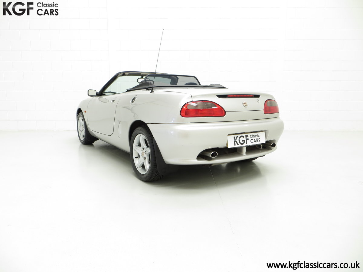 1998 An Astonishing MGF 1.8i VVC with Just 12,591 Miles For Sale (picture 4 of 6)