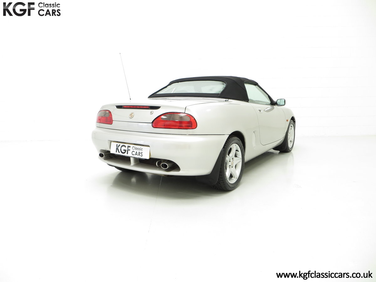 1998 An Astonishing MGF 1.8i VVC with Just 12,591 Miles For Sale (picture 5 of 6)
