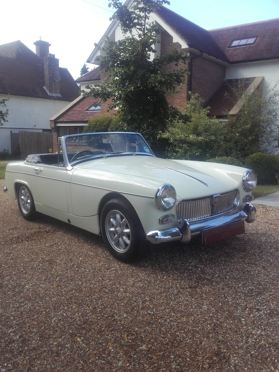 1967 MG Midget 1275 Mk3 (Card Payments Accepted) For Sale (picture 1 of 6)