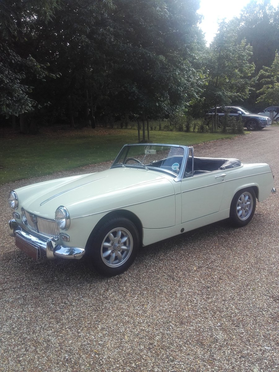 1967 MG Midget 1275 Mk3 (Card Payments Accepted) For Sale (picture 2 of 6)
