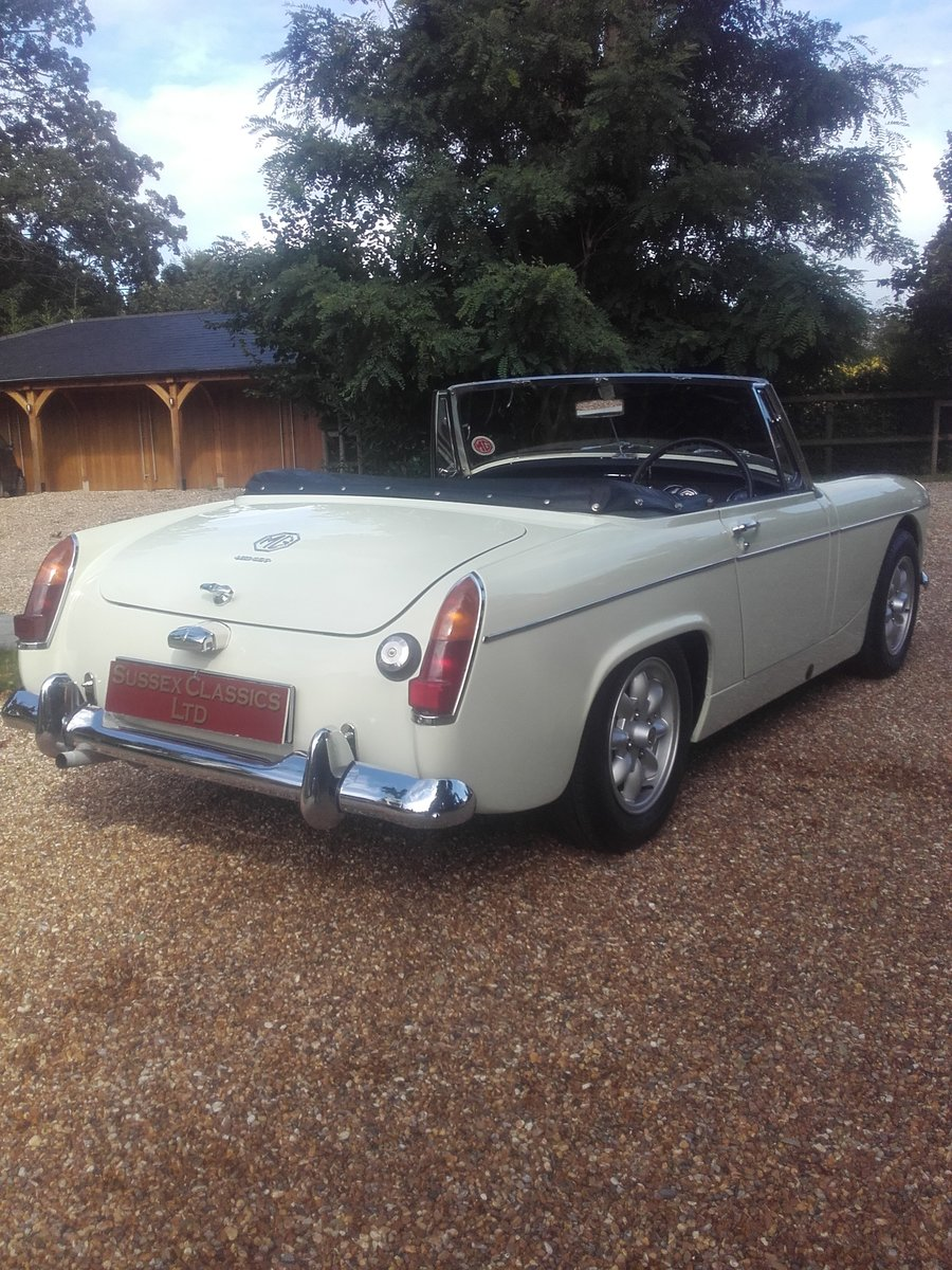 1967 MG Midget 1275 Mk3 (Card Payments Accepted) For Sale (picture 3 of 6)
