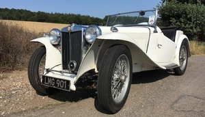 1945 MG MIDGET TC ROADSTER For Sale by Auction