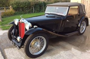 1938 MG MIDGET TA TICKFORD DROPHEAD COUPÉ For Sale by Auction
