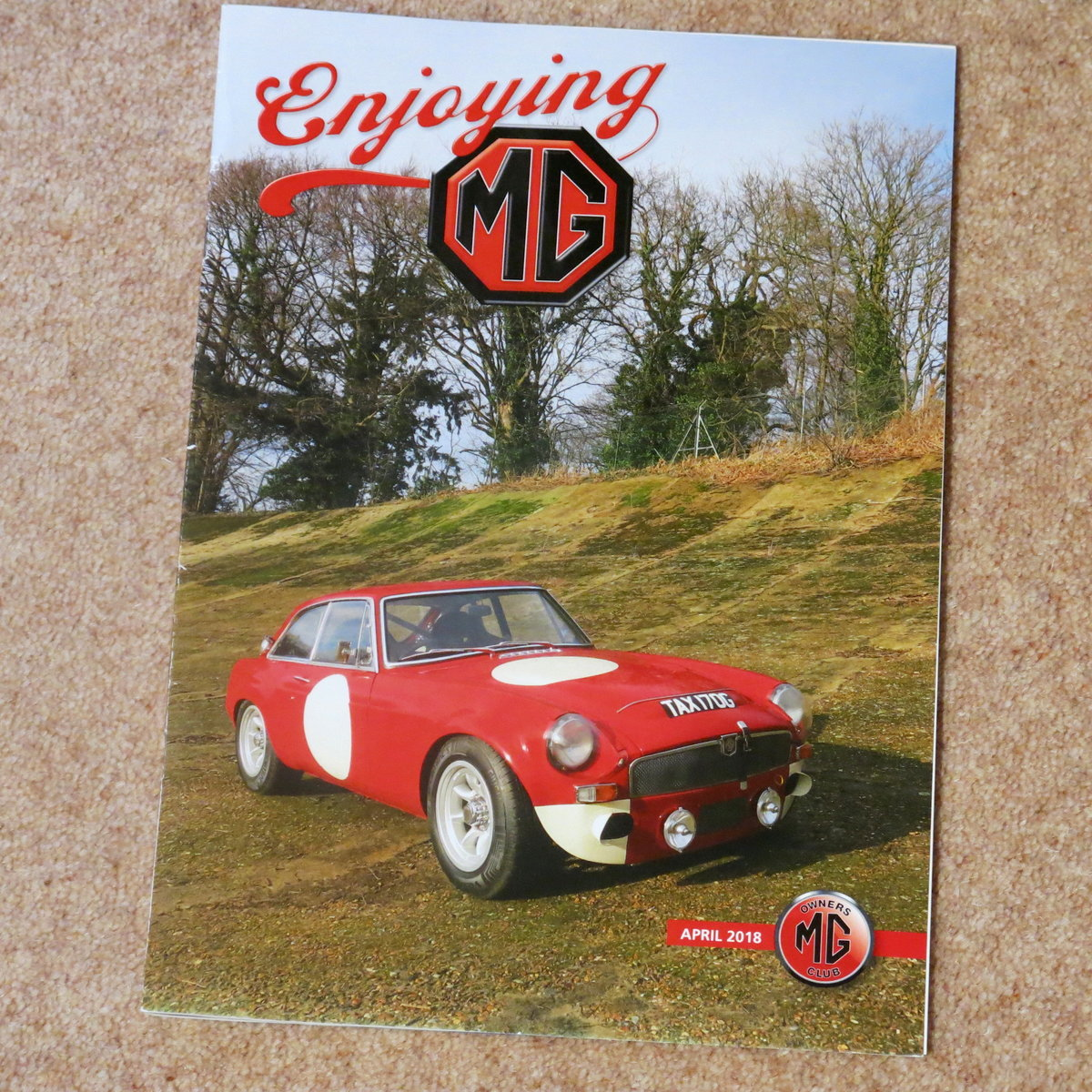 1969 MGC GT Sebring Ex Doug Smith MG Motorsport SOLD