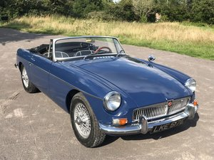 1967 MGB Roadster (LHD). For Sale