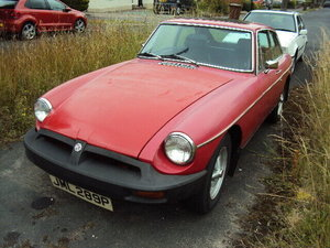 1972 MGB GT VERY RELIABLE PAINT FLAT NO RUST SOLD