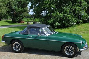 1971 MG MGB CHROME BUMPER ROADSTER RECENT FULL RESTORATION