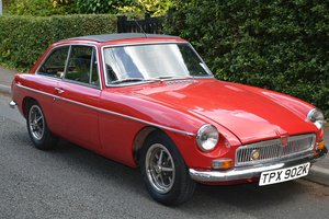 MG B GT 1972 - To be auctioned 25-10-19 For Sale by Auction