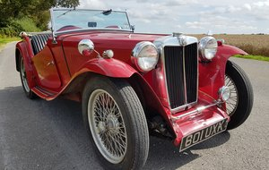 1948  MG TC Good honest unrestored driving example For Sale