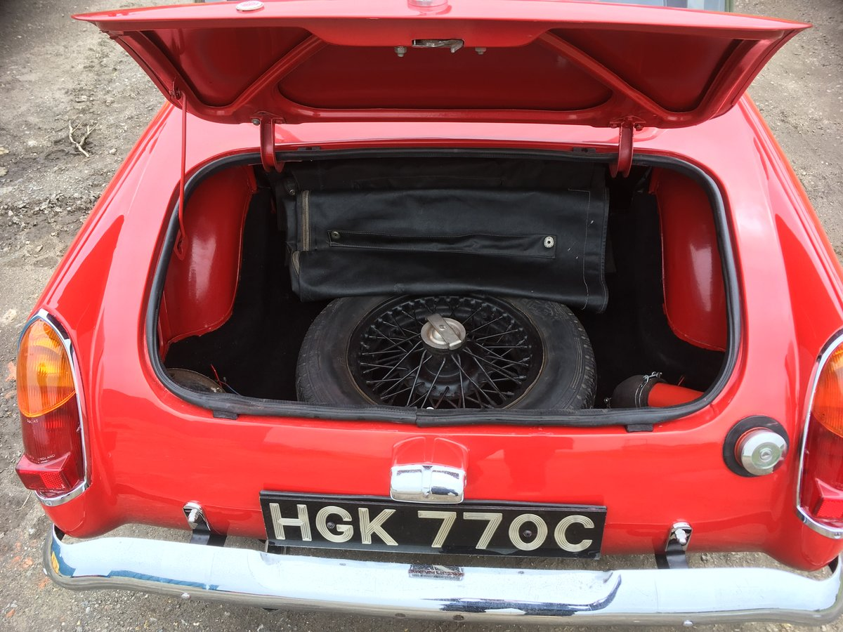 1965 MG Midget Chrome bumper lots of new parts For Sale (picture 6 of 6)