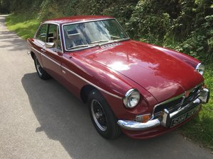 1973 MGB GT Factory V8  For Sale