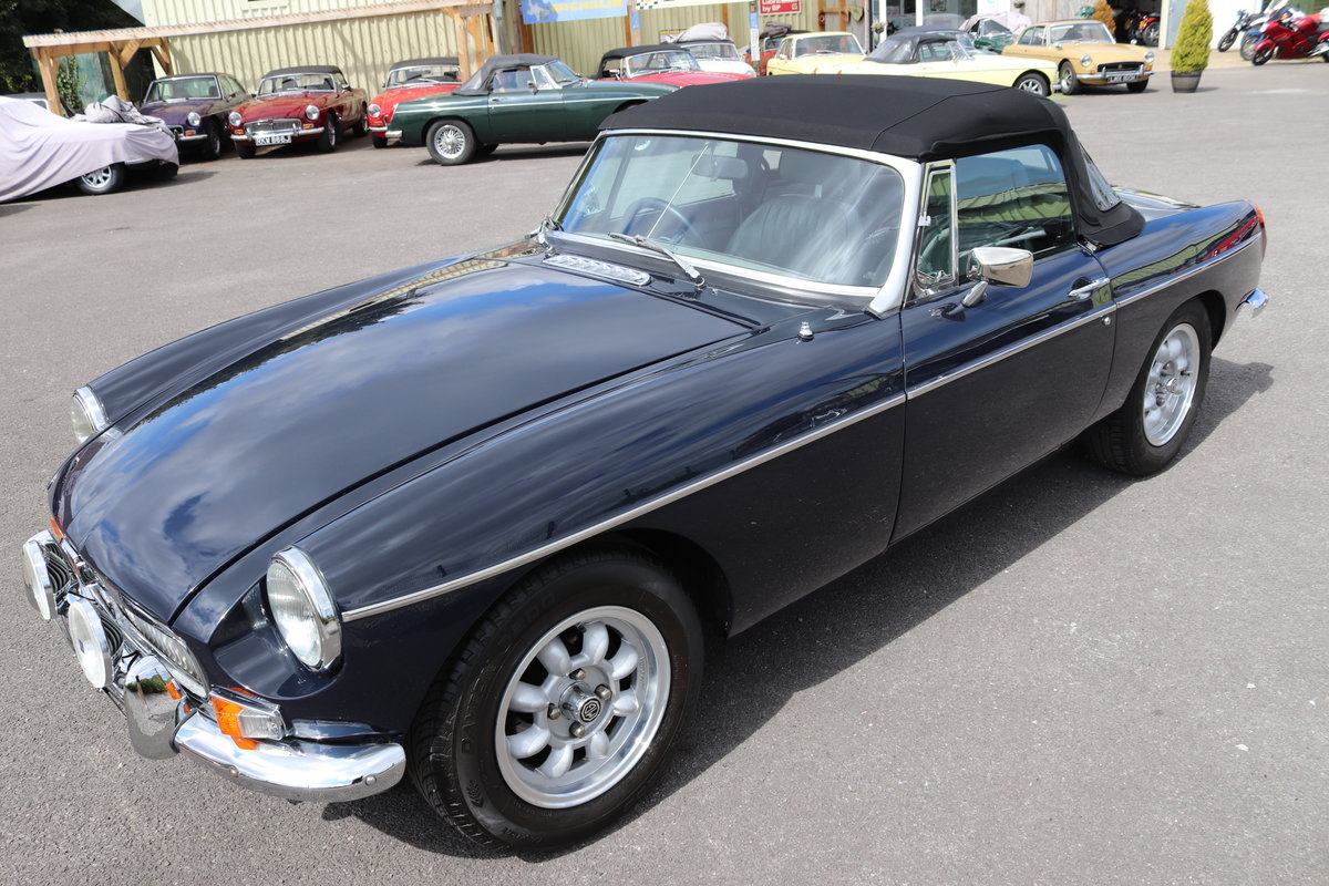 1974 MGB HERITAGE SHELL in Midnight blue For Sale (picture 1 of 6)