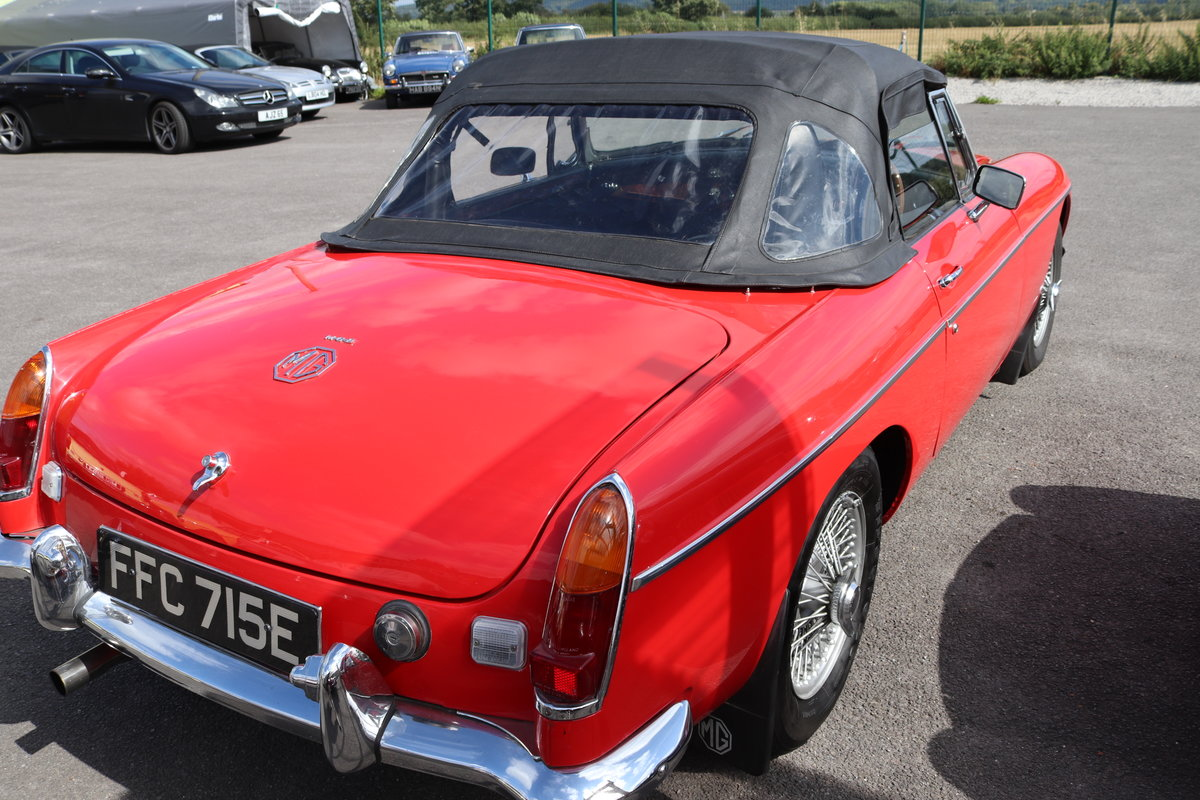 1967 MGB HERITAGE SHELL, Oselli engine. For Sale (picture 2 of 6)