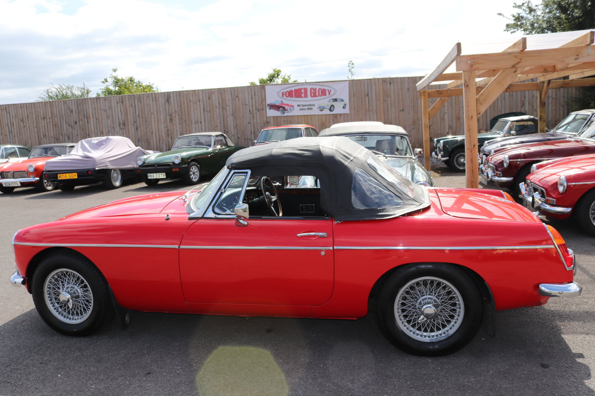 1967 MGB HERITAGE SHELL, Oselli engine. For Sale (picture 4 of 6)
