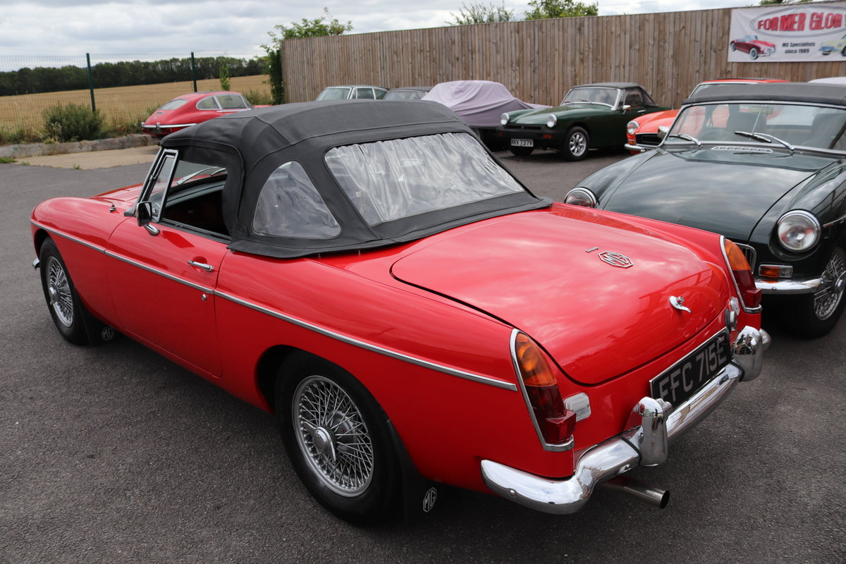 1967 MGB HERITAGE SHELL, Oselli engine. For Sale (picture 6 of 6)