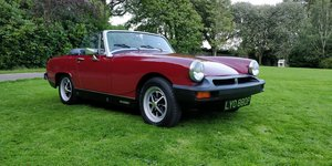 1976 MG Midget Low Owner Car