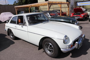 1974 MGB GT last of the chrome bumpers, fully restored shell For Sale