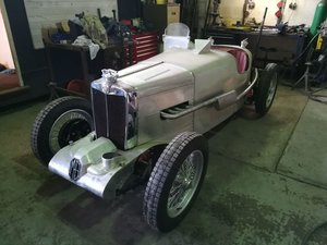 1934 MG PA Q-Type Restoration Project Peter Gregory For Sale