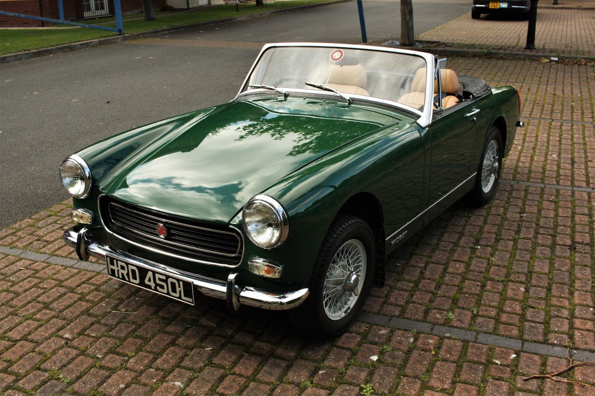 1971 MG Midget MkIV RWA, BRG - Heritage Bodyshell Restoration SOLD (picture 1 of 6)
