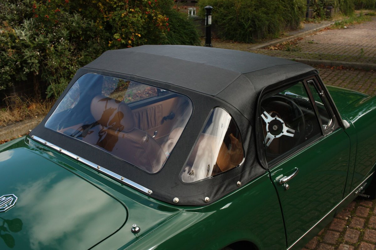 1971 MG Midget MkIV RWA, BRG - Heritage Bodyshell Restoration SOLD (picture 4 of 6)