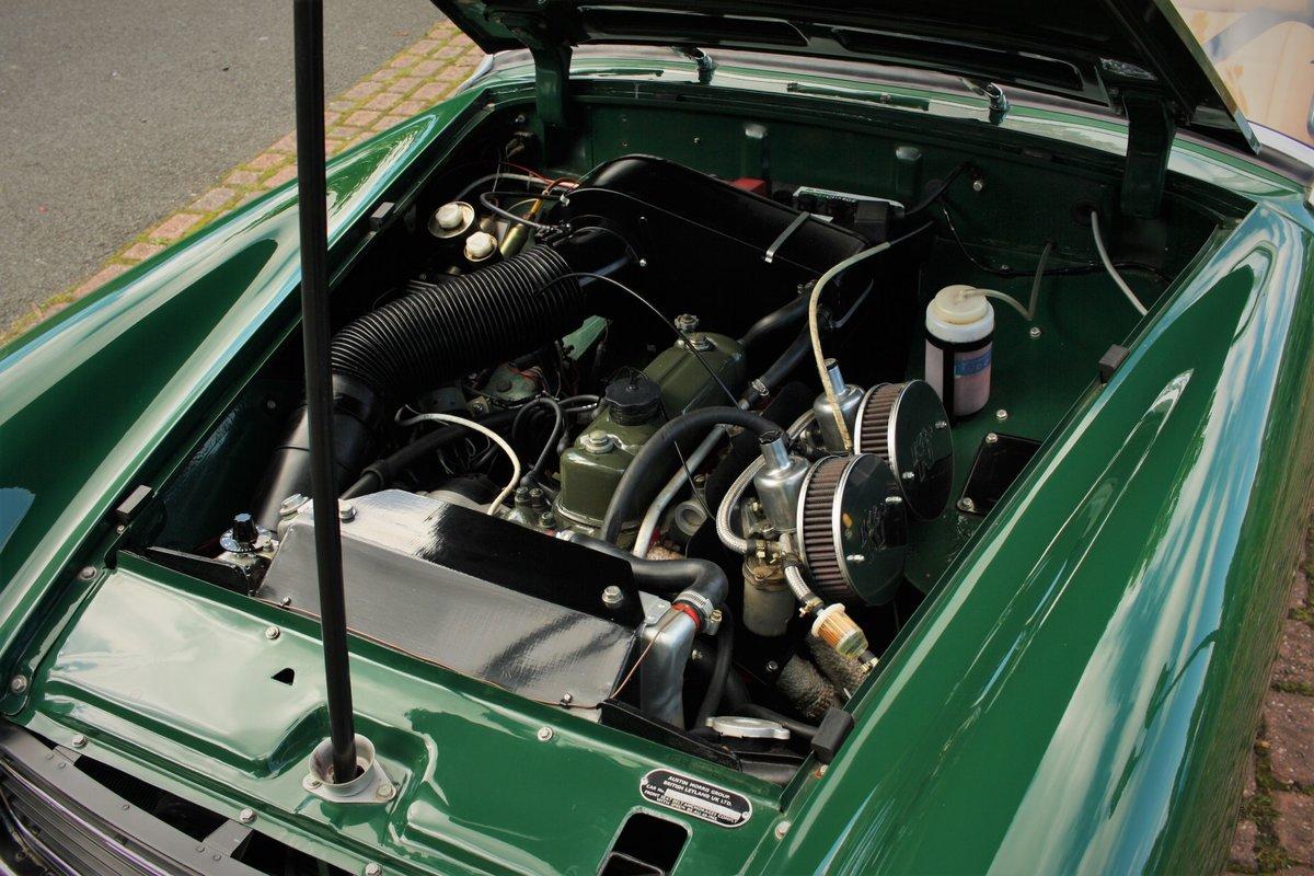 1971 MG Midget MkIV RWA, BRG - Heritage Bodyshell Restoration SOLD (picture 5 of 6)