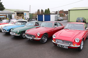 40 Classic MGs FOR SALE, MGOC RECOMMENDED SHOWROOM For Sale
