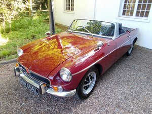 MGB ROADSTER 1972 Two Former Keepers  For Sale