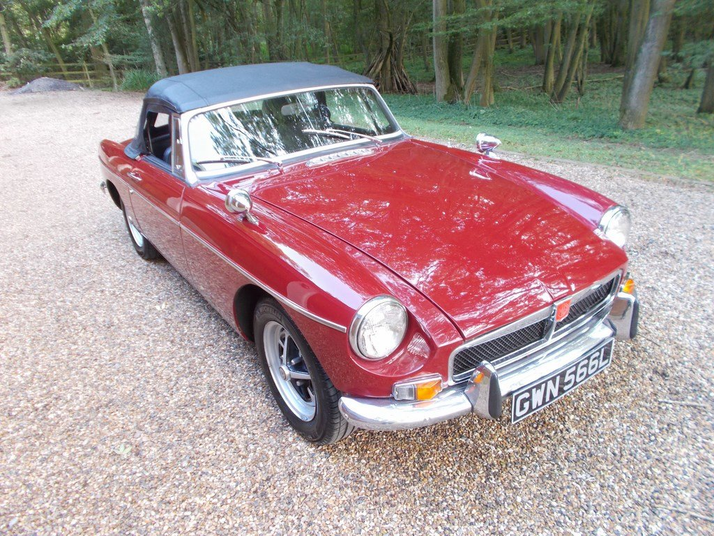 MGB ROADSTER 1972 Two Former Keepers  For Sale (picture 2 of 6)