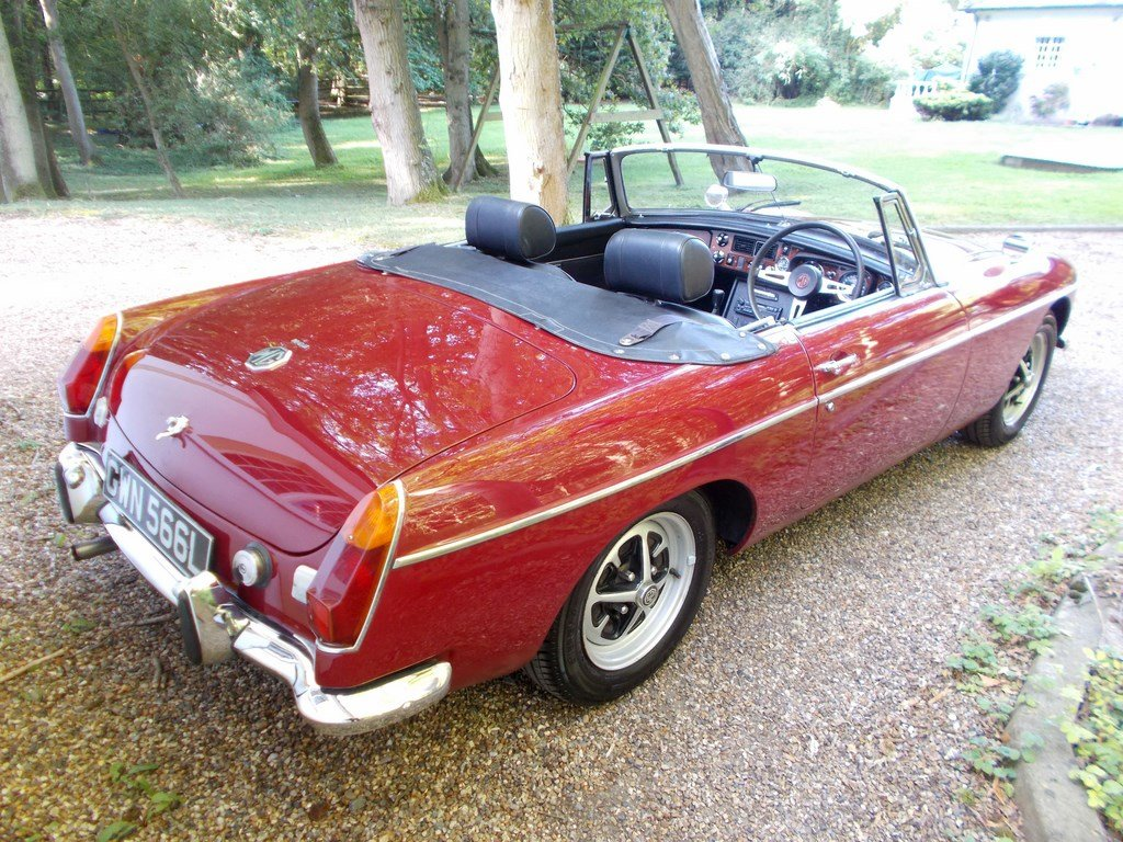 MGB ROADSTER 1972 Two Former Keepers  For Sale (picture 5 of 6)