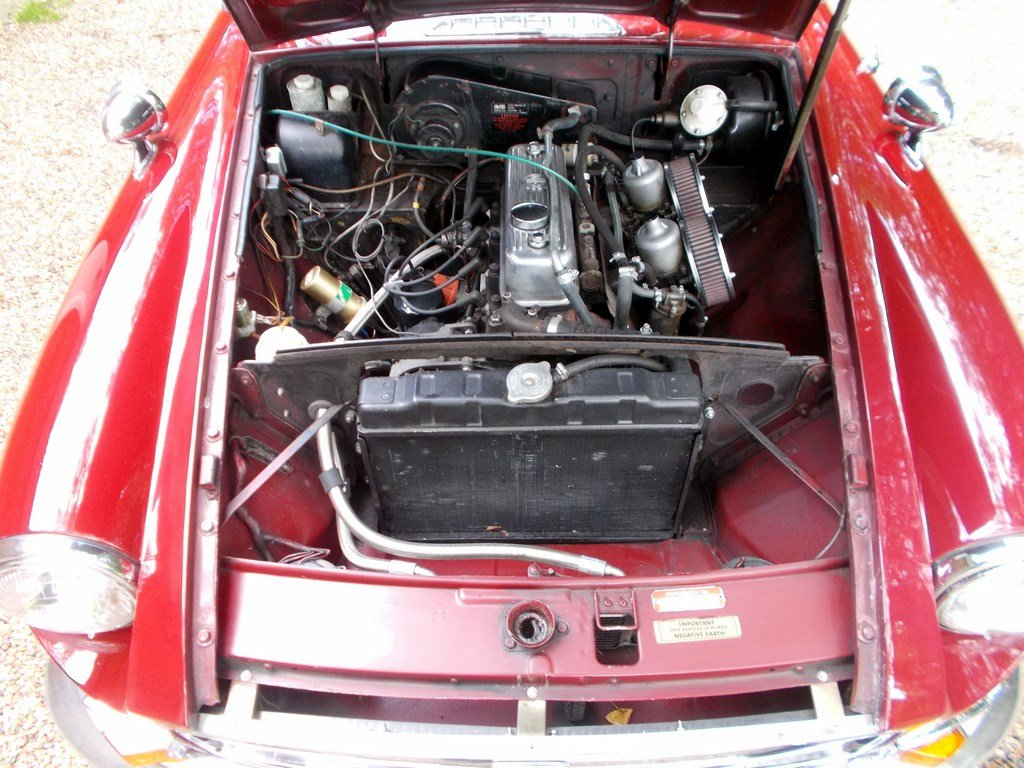 MGB ROADSTER 1972 Two Former Keepers  For Sale (picture 6 of 6)