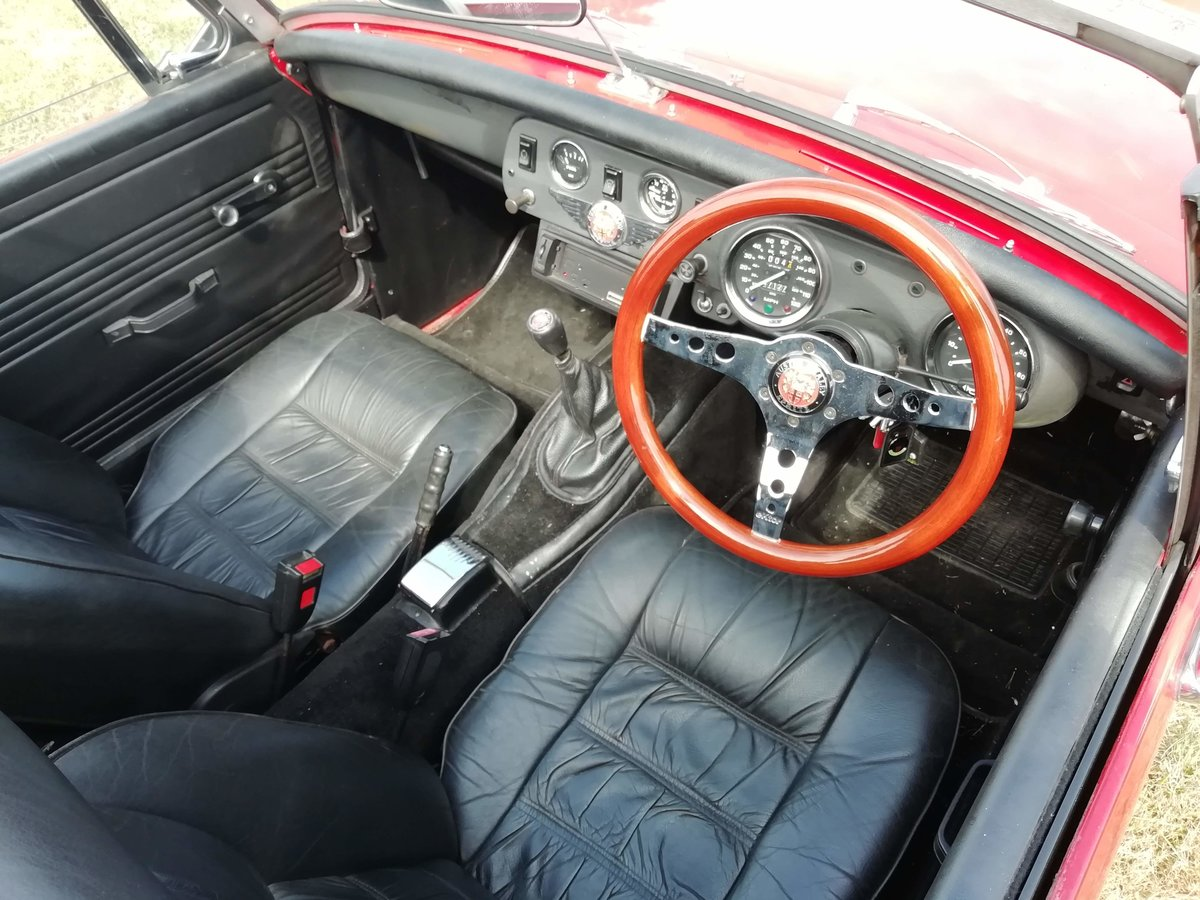 1979 Austin Healey Sprite Mk1 Frogeye Replica For Sale (picture 4 of 6)
