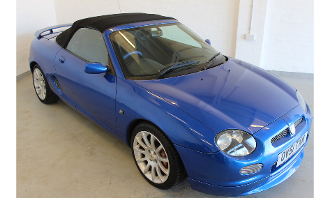 2001 Mgf trophy 160 only 50k miles!! For Sale