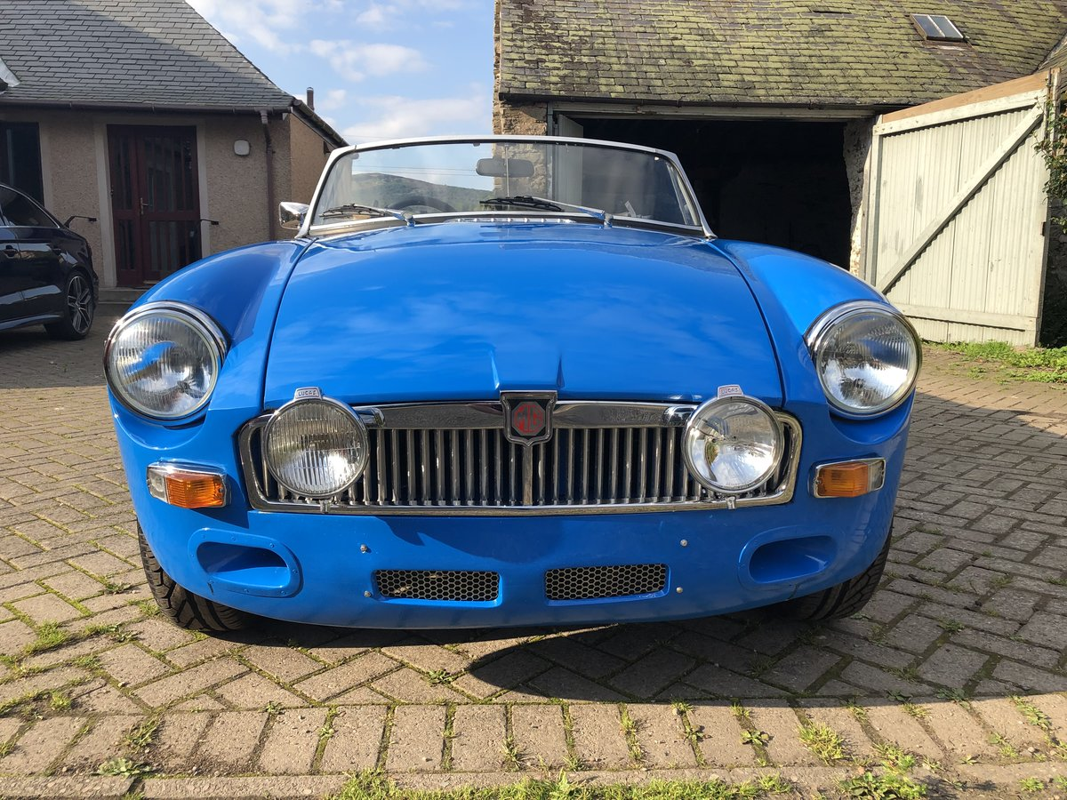 1978 MGB Roadster - Rust free, Oselli engine For Sale (picture 1 of 6)