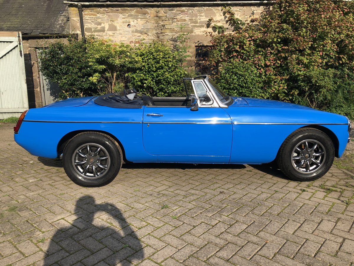 1978 MGB Roadster - Rust free, Oselli engine For Sale (picture 2 of 6)