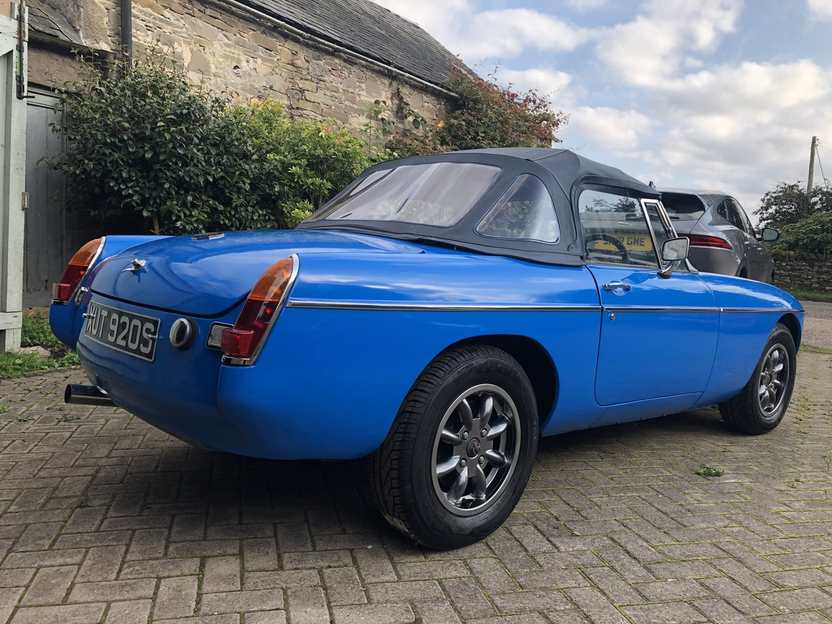 1978 MGB Roadster - Rust free, Oselli engine For Sale (picture 3 of 6)