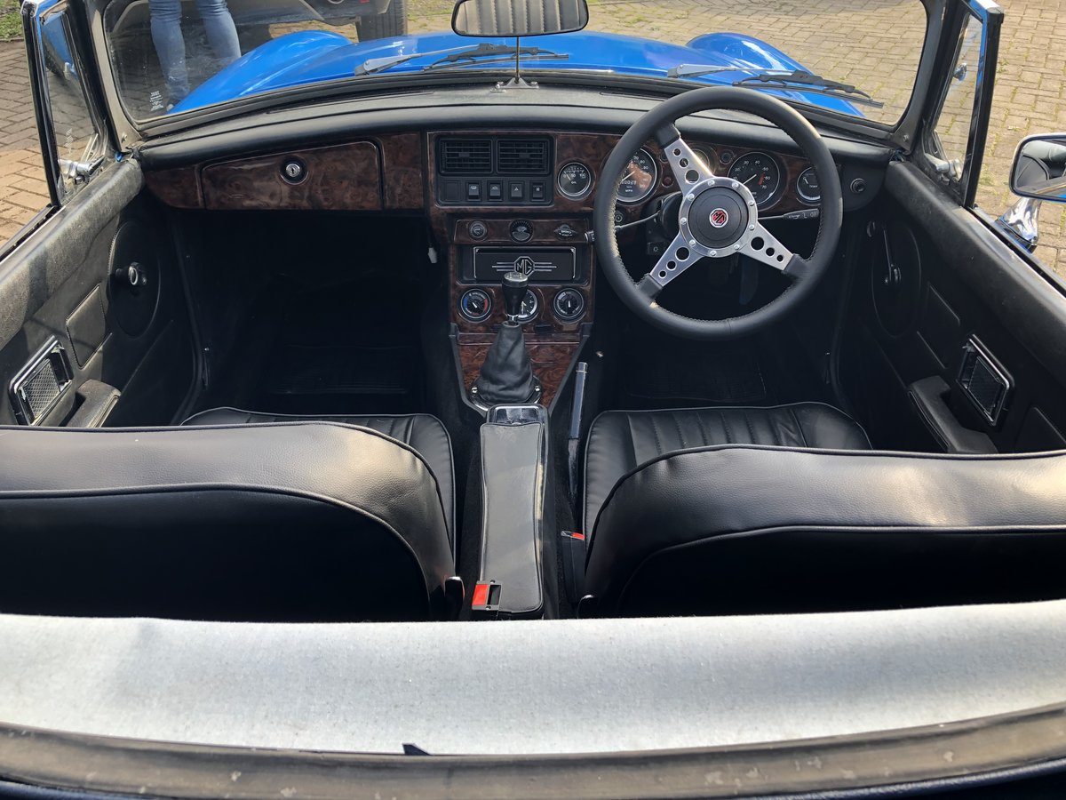 1978 MGB Roadster - Rust free, Oselli engine For Sale (picture 5 of 6)