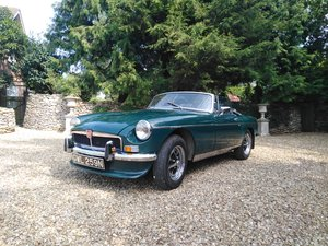 Green MG B Roadster 1974 For Sale