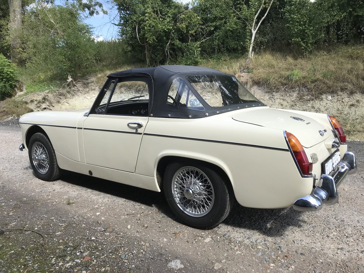 1969 MG Midget Mklll (pre-face lift model) For Sale (picture 4 of 6)