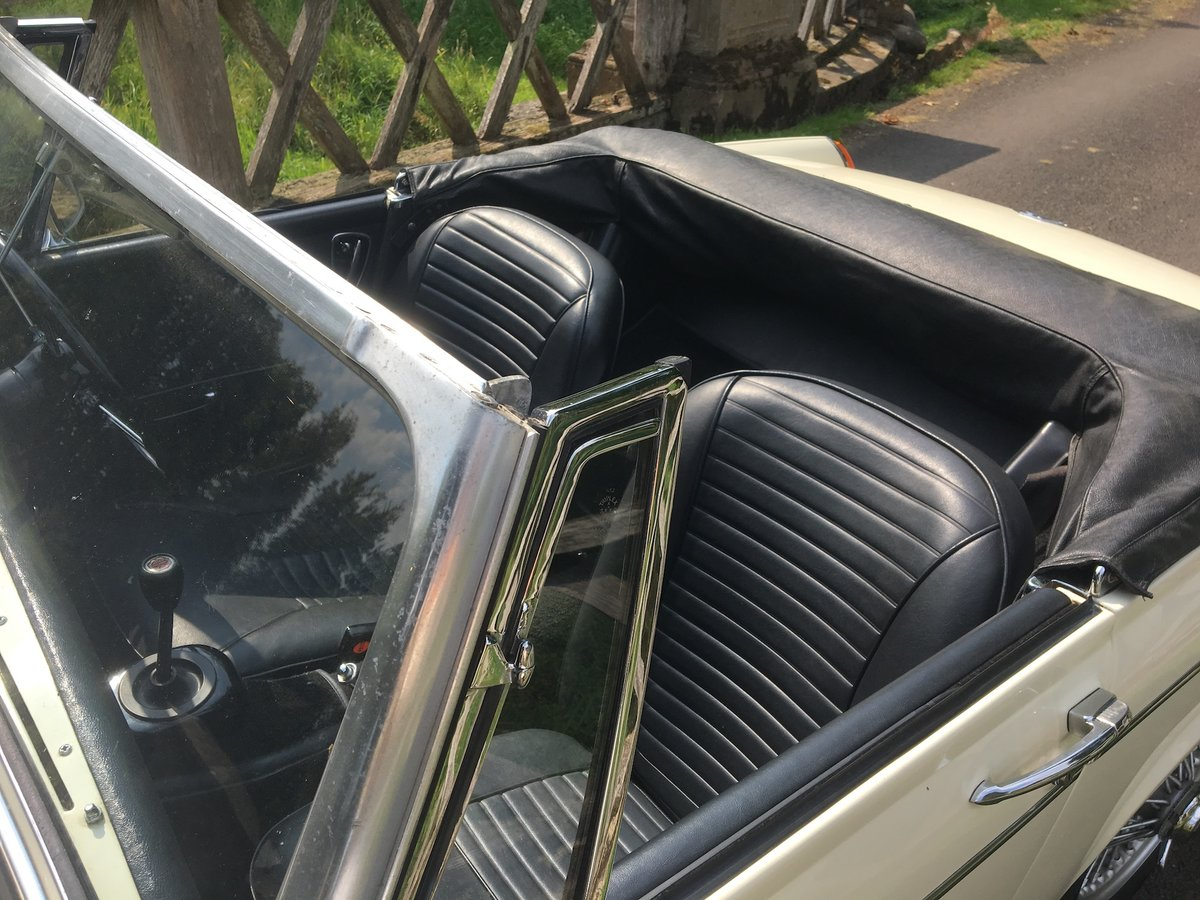 1969 MG Midget Mklll (pre-face lift model) For Sale (picture 6 of 6)