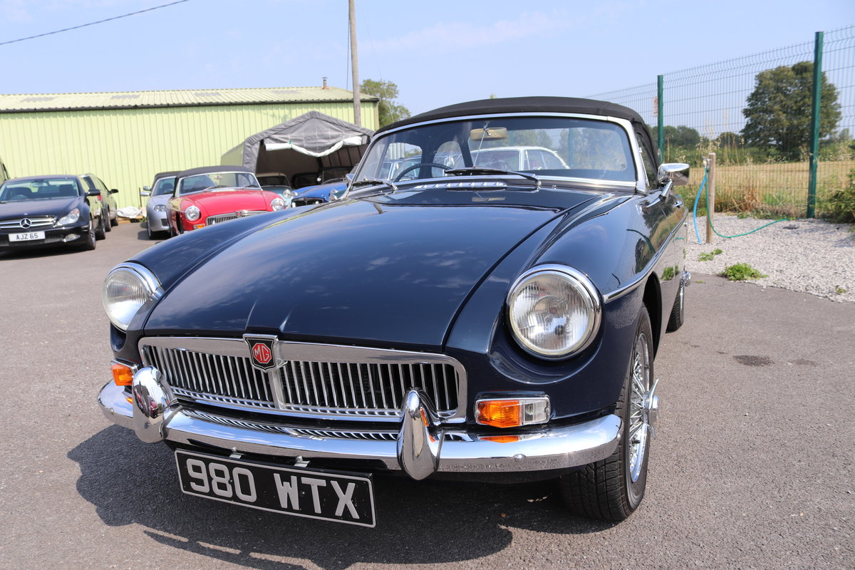 1964 MGB MK1 HERITAGE SHELL, Award winning MGB SOLD (picture 1 of 5)