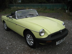 1977 MGB Roadster  SOLD