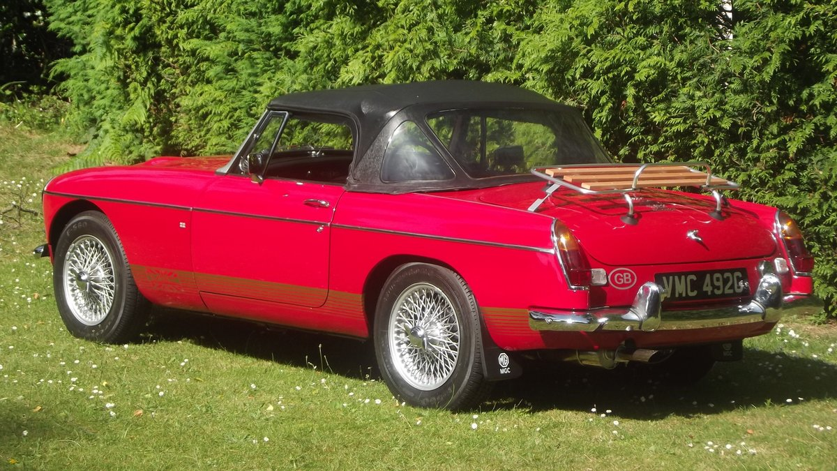 1968 MGC AUTOMATIC ROADSTER 1 0F 92 made For Sale (picture 3 of 6)