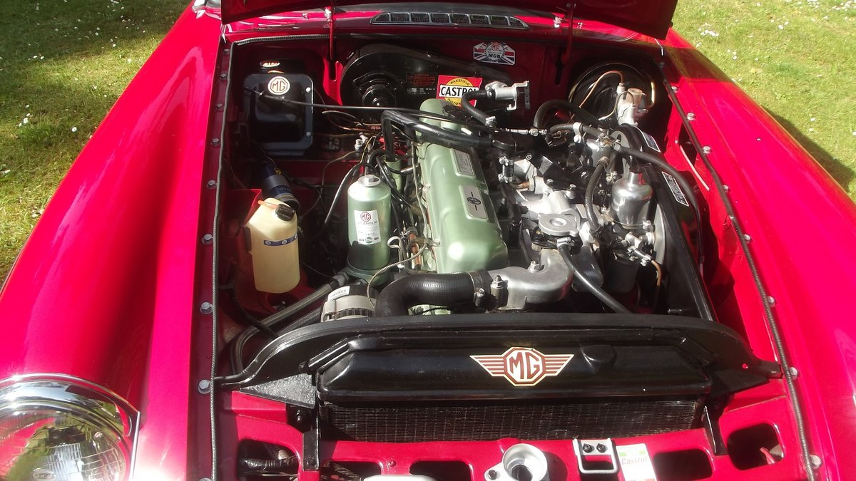 1968 MGC AUTOMATIC ROADSTER 1 0F 92 made For Sale (picture 5 of 6)