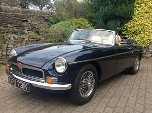 1972 MGB Roadster, Chrome Bumper For Sale