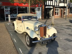 1951 MG TD LHD  For Sale