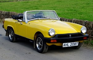 1979 MG Midget Sports 1500 Twin Carb, New Hood, Loads of History For Sale