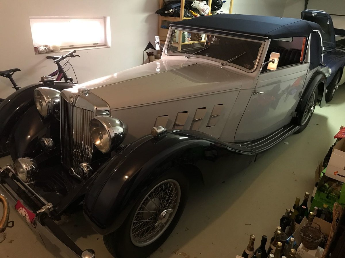 1938 MG SA Tickford For Sale (picture 1 of 6)