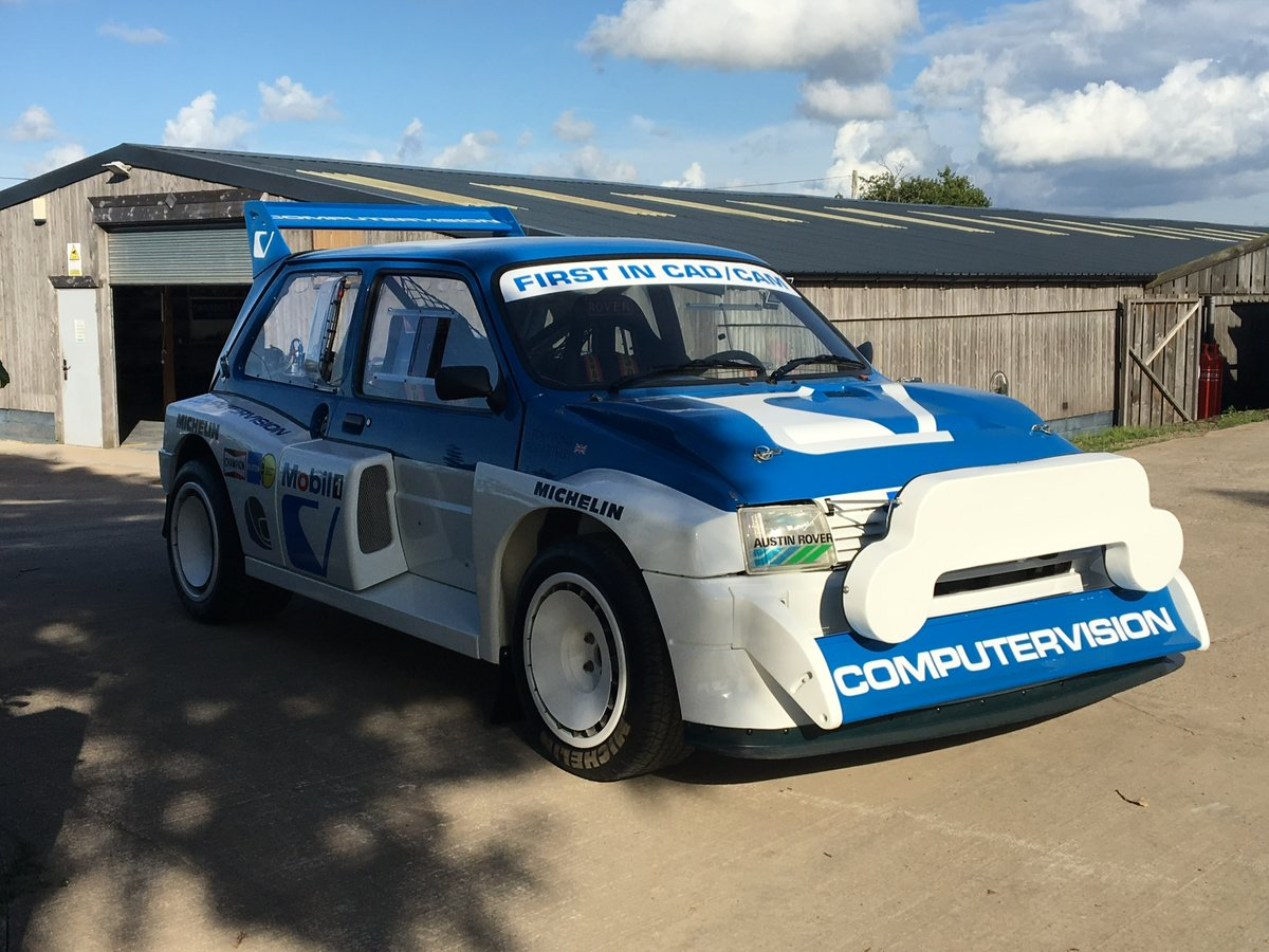 1984 International Spec Group B MG Metro 6R4 For Sale (picture 1 of 6)