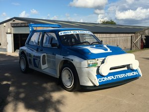 1984 International Spec Group B MG Metro 6R4
