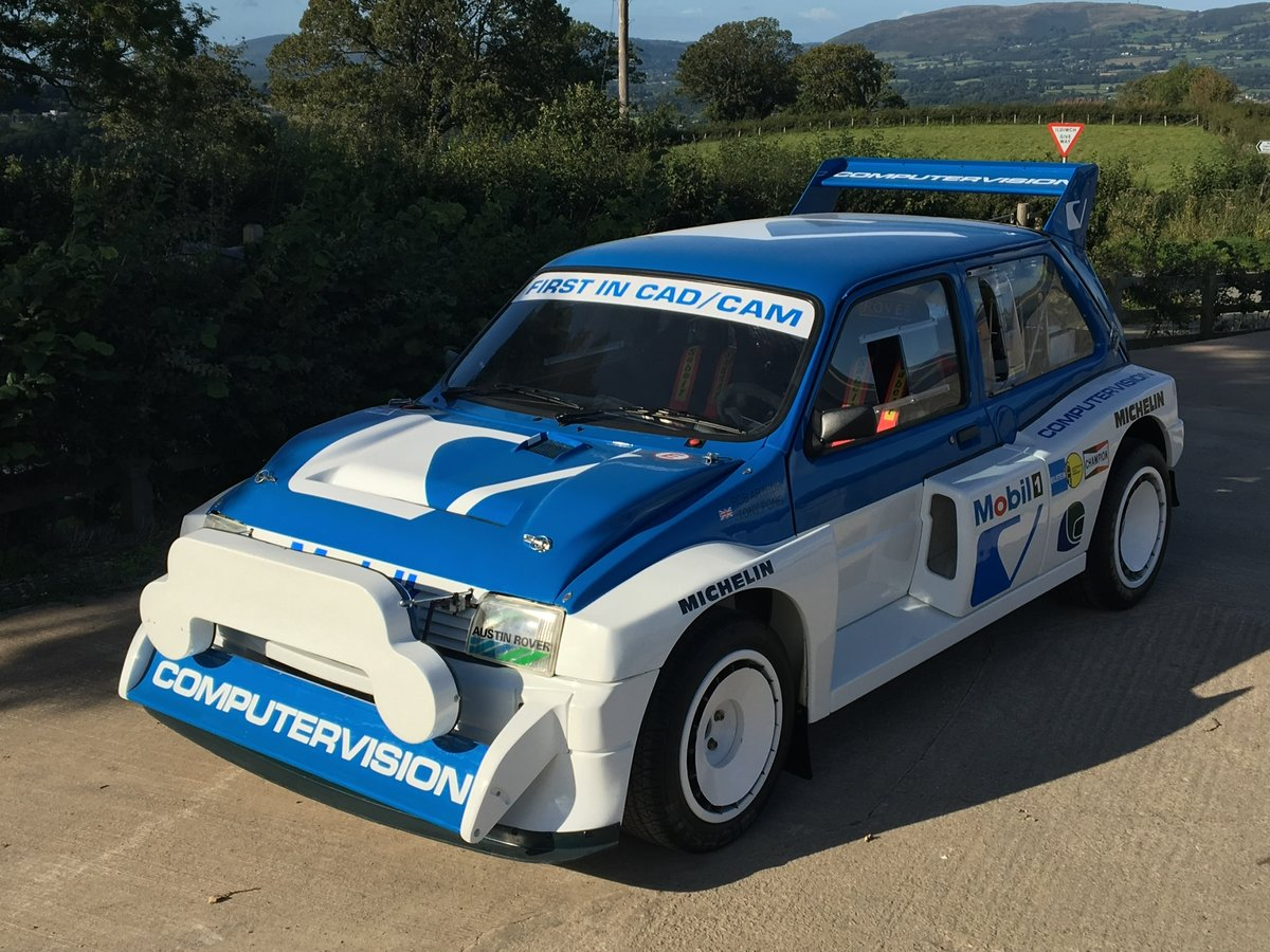 1984 International Spec Group B MG Metro 6R4 For Sale (picture 2 of 6)